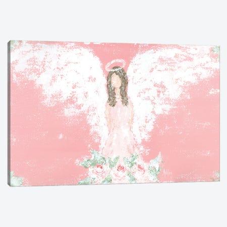 Tea Rose Guardian Angel Canvas Print #ASB127} by Ashley Bradley Canvas Art Print