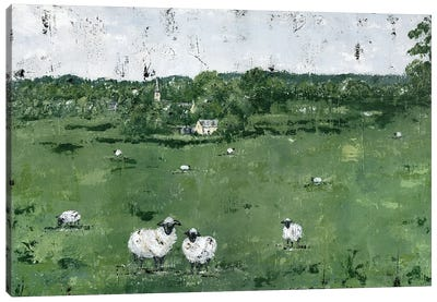 English Countryside Canvas Art Print