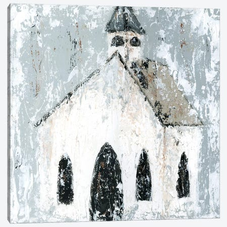 Church Canvas Print #ASB12} by Ashley Bradley Canvas Art Print