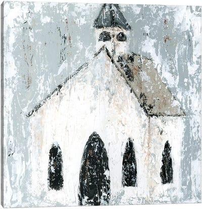 Church Canvas Art Print