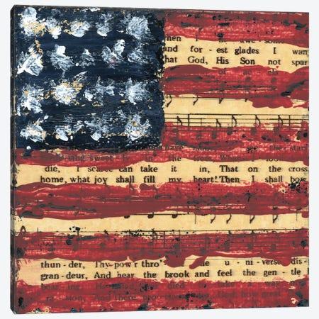Old Glory Canvas Print #ASB133} by Ashley Bradley Canvas Art Print