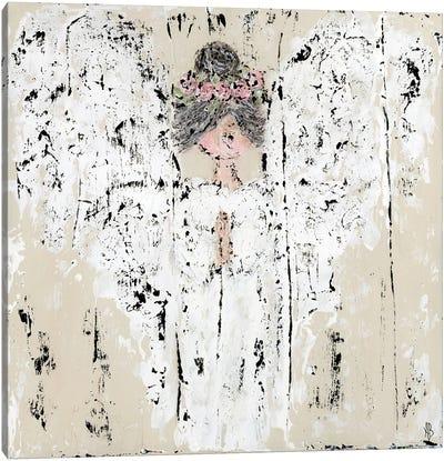 Praying For Hope Canvas Art Print