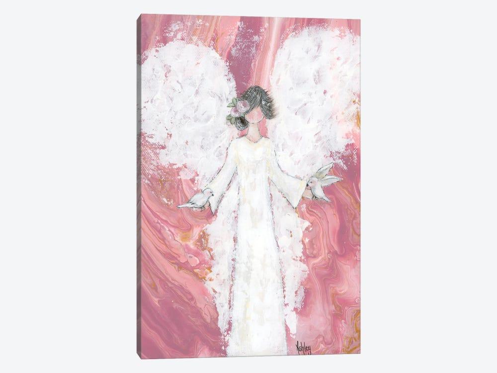 Peace Angel by Ashley Bradley 1-piece Canvas Art