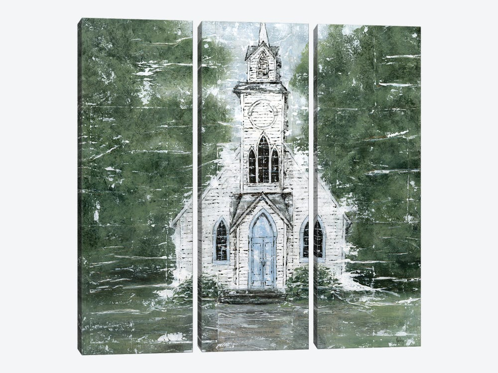 Blessed Assurance by Ashley Bradley 3-piece Canvas Art Print