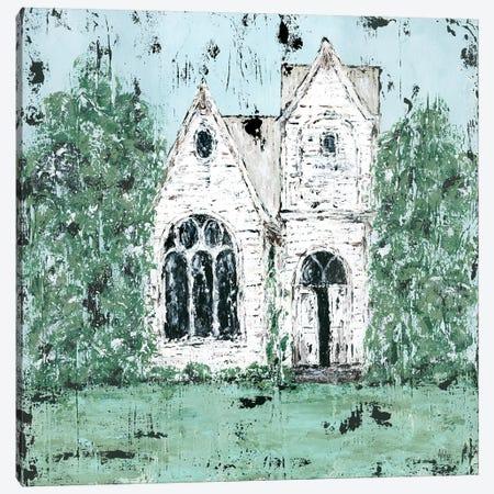 Country Church Canvas Print #ASB13} by Ashley Bradley Canvas Print