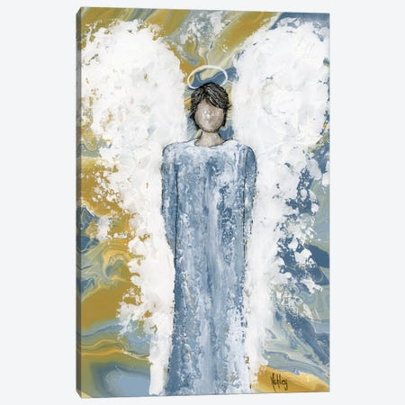 Angel Of Protection Canvas Print #ASB140} by Ashley Bradley Canvas Art