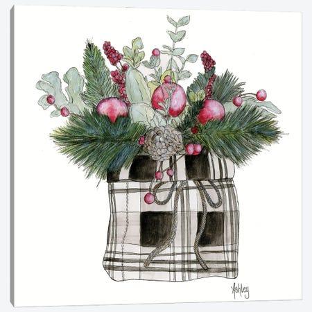 Fa La La Floral Canvas Print #ASB149} by Ashley Bradley Canvas Wall Art