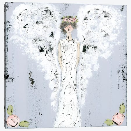 Farmhouse Angel Canvas Print #ASB16} by Ashley Bradley Canvas Wall Art