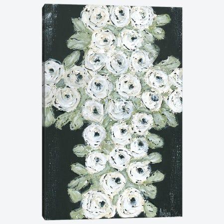 Flower Cross Canvas Print #ASB21} by Ashley Bradley Canvas Wall Art