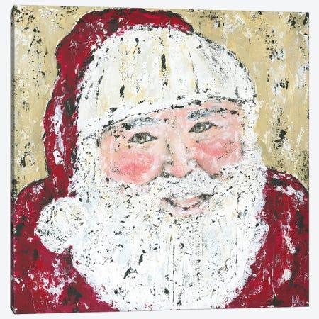 Jolly Santa Canvas Print #ASB25} by Ashley Bradley Canvas Art Print