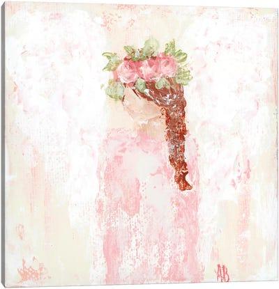 Pink Angel Canvas Art Print