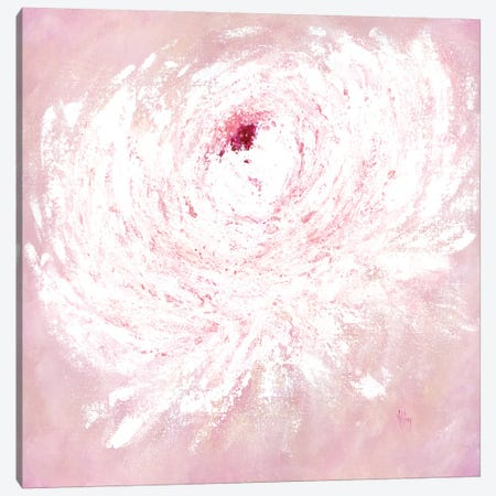 Pink Peony Canvas Print #ASB33} by Ashley Bradley Canvas Print