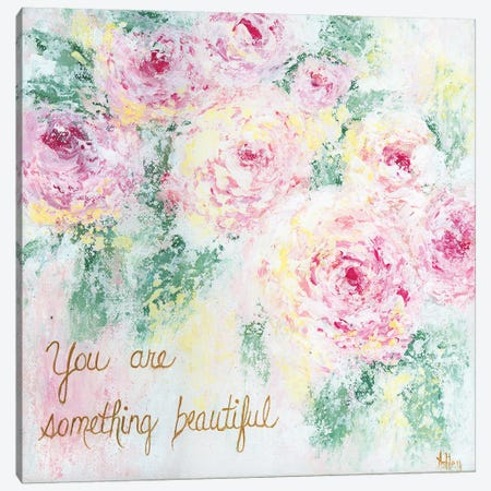 Something Beautiful Canvas Print #ASB35} by Ashley Bradley Canvas Wall Art