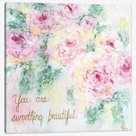 Something Beautiful Canvas Print #ASB35} by Ashley Bradley Canvas Wall Art