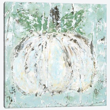 White Pumpkin Canvas Print #ASB41} by Ashley Bradley Canvas Art