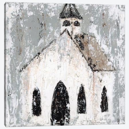 Abstract Church Canvas Print #ASB42} by Ashley Bradley Canvas Wall Art