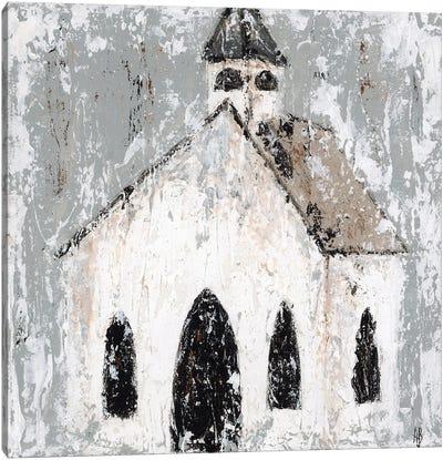 Abstract Church Canvas Art Print