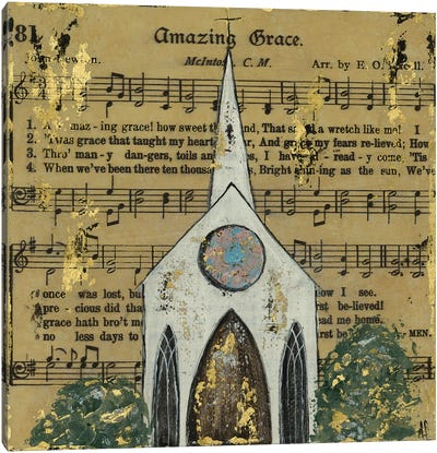 Amazing Grace Chapel Canvas Art Print