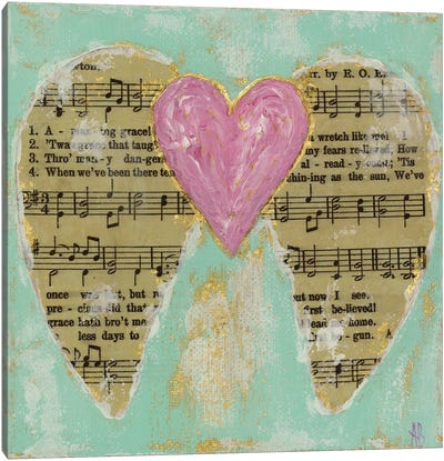 Amazing Grace Pink Canvas Art Print