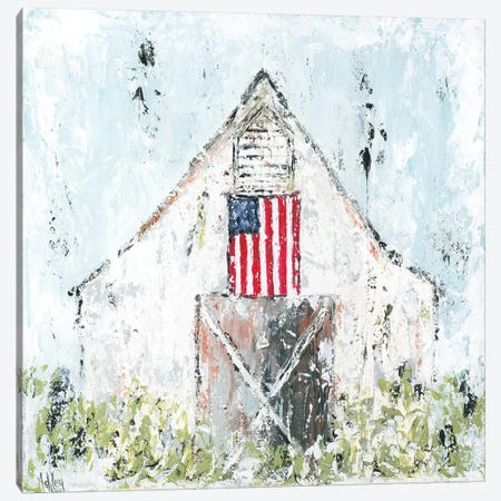 Americana Barn 3-Piece Canvas #ASB4} by Ashley Bradley Canvas Wall Art