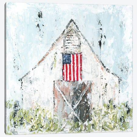 Americana Barn Canvas Print #ASB4} by Ashley Bradley Canvas Wall Art