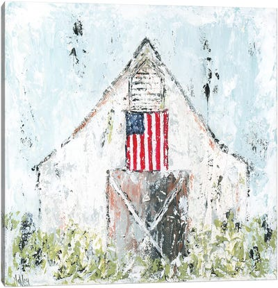 Americana Barn Canvas Art Print