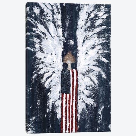 Americana Angel Canvas Print #ASB50} by Ashley Bradley Art Print