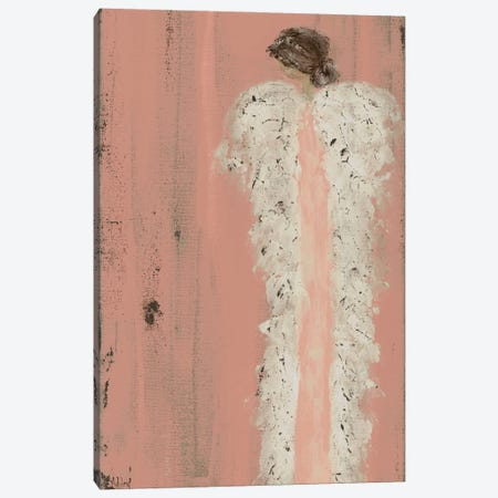 Angel Look Over Shoulder Canvas Print #ASB51} by Ashley Bradley Canvas Print