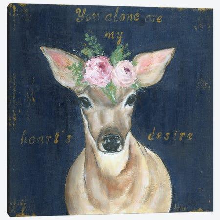 As The Deer Canvas Print #ASB53} by Ashley Bradley Art Print