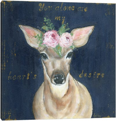 As The Deer Canvas Art Print