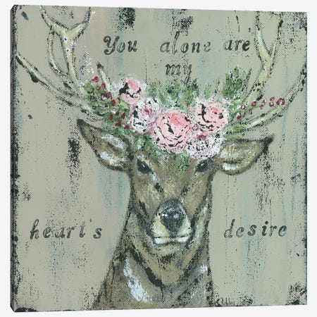 As The Deer II Canvas Print #ASB54} by Ashley Bradley Canvas Art