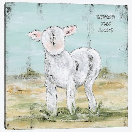 Behold The Lamb 3-Piece Canvas #ASB56} by Ashley Bradley Canvas Artwork