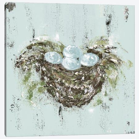 Bird Nest Canvas Print #ASB57} by Ashley Bradley Canvas Art