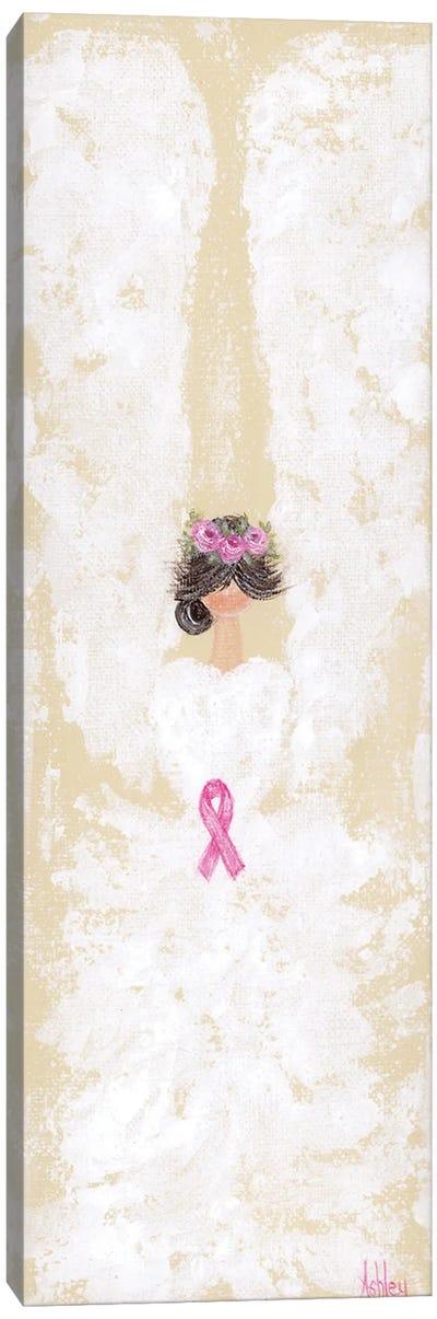 Breast Cancer Angel Canvas Art Print