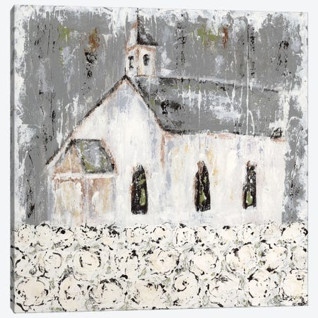 Cottonfield Chapel Canvas Print #ASB67} by Ashley Bradley Canvas Art Print