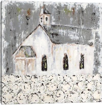 Cottonfield Chapel Canvas Art Print