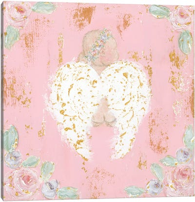 Avery Angel Canvas Art Print