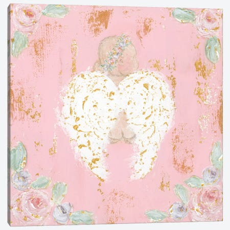 Avery Angel Canvas Print #ASB6} by Ashley Bradley Canvas Artwork