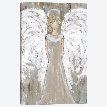 Farmhouse Guardian Angel Canvas Print #ASB72} by Ashley Bradley Canvas Print