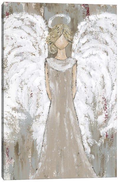 Farmhouse Guardian Angel Canvas Art Print