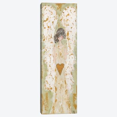 Green Angel Canvas Print #ASB77} by Ashley Bradley Canvas Art