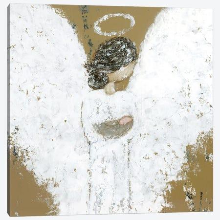 Heavenly Baby Angel Canvas Print #ASB83} by Ashley Bradley Canvas Artwork