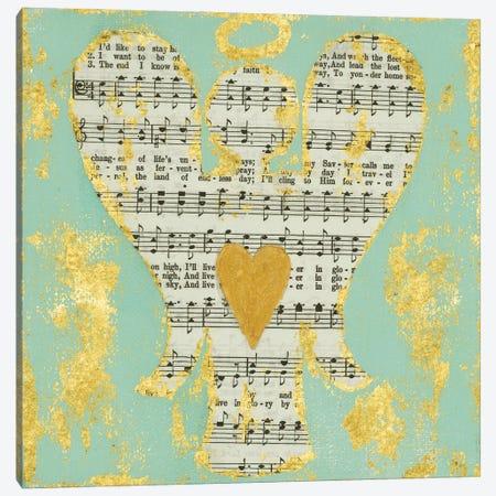 Hymnal Angel Canvas Print #ASB86} by Ashley Bradley Art Print