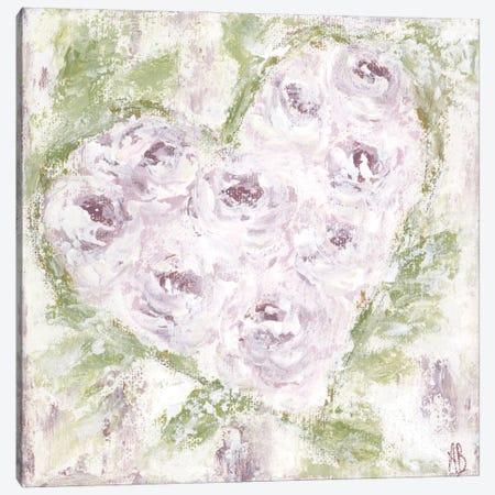 Lavender Floral Art Canvas Print #ASB88} by Ashley Bradley Canvas Wall Art