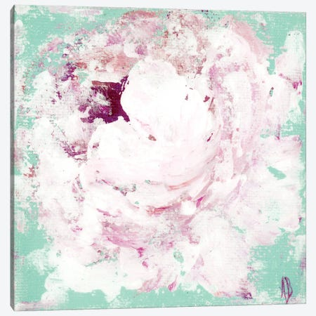 Lavender Peony Canvas Print #ASB89} by Ashley Bradley Canvas Artwork