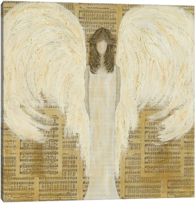 Musical Angel Canvas Art Print