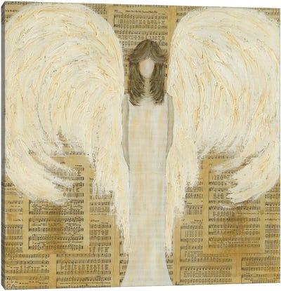 Musical Angel Canvas Art Print