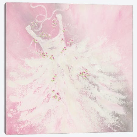 Pink Tutu Canvas Print #ASB99} by Ashley Bradley Canvas Print