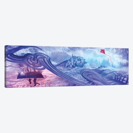 Line Of Kite Canvas Print #ASD12} by Adam S. Doyle Art Print