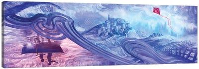 Line Of Kite Canvas Art Print